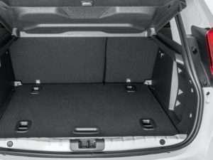 объем багажника лада х рей