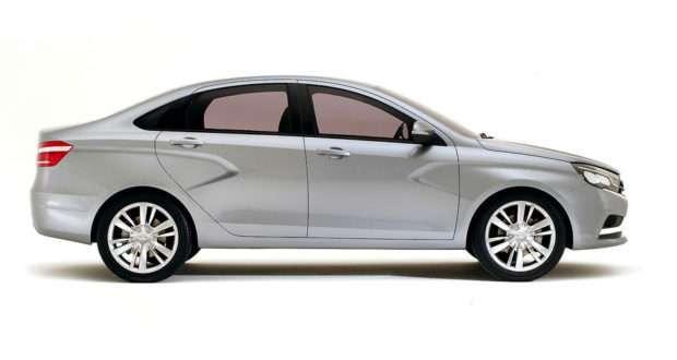 Размеры Lada Vesta SW (габариты кузова, размеры багажника и салона)