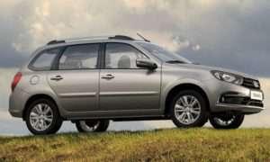 Каков объем багажника Лада Гранта 2018: седан, лифтбек и универсал