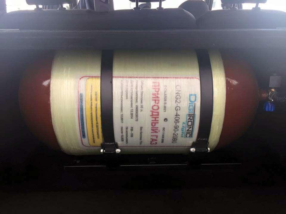 Стала доступна новая Lada Largus на метане