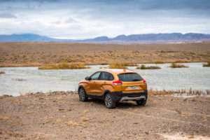 Тест драйв на бездорожье Lada Xray Cross