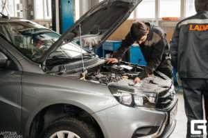 Регламент обслуживания Lada Vesta