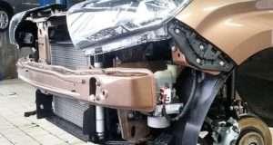 Процедура снятия переднего и заднего бампера