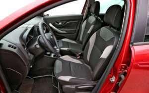 кресло водителя
